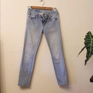 Gap jeans always skinny 26short